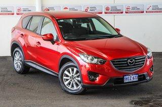 2016 Mazda CX-5 MY15 Maxx Sport (4x4) Red 6 Speed Automatic Wagon.