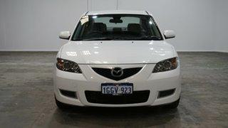 2008 Mazda 3 BK10F2 Neo White 4 Speed Sports Automatic Sedan