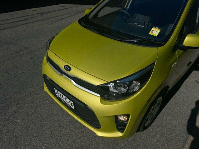 Demo Kia Picanto JA MY21 S Cheltenham, 2021 Kia Picanto JA MY21 S Lime Green 4 Speed Automatic Hatchback