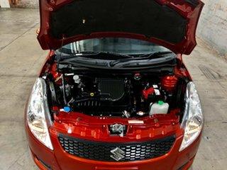 2013 Suzuki Swift FZ GL Orange 4 Speed Automatic Hatchback
