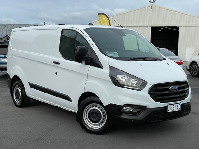 Used Ford Transit Custom VN 2020.50MY 340S (Low Roof) Moonah, 2020 Ford Transit Custom VN 2020.50MY 340S (Low Roof) White 6 Speed Automatic Van