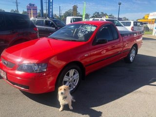 2004 Ford Falcon Red Automatic Utility.