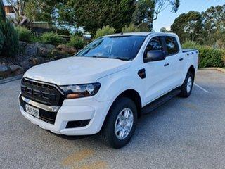 2017 Ford Ranger PX MkII XL Frozen White 6 Speed Sports Automatic Utility.