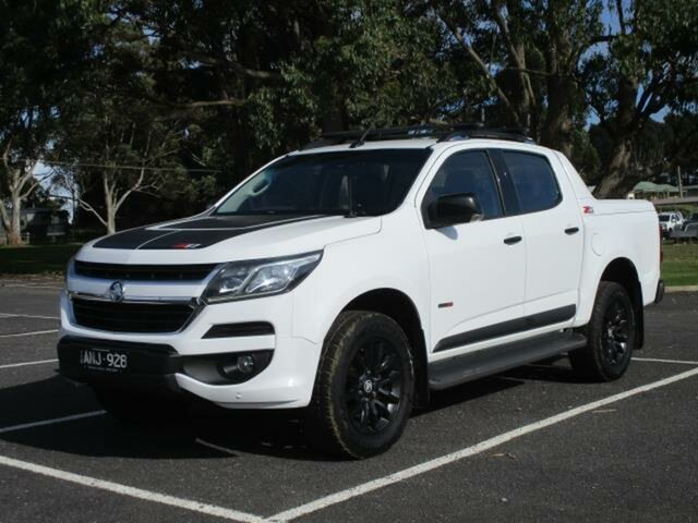 Used Holden Colorado Timboon, 2017 Holden Colorado RG Turbo Z71 4x4 Summit White Automatic Utility
