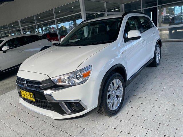 Used Mitsubishi ASX ES Taree, 2019 Mitsubishi ASX ES White Constant Variable Wagon