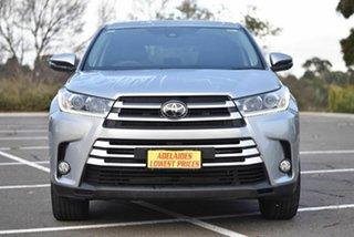 2018 Toyota Kluger GSU55R GX AWD Silver 8 Speed Sports Automatic Wagon.