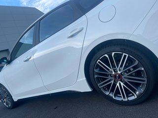 2021 Kia Cerato BD MY21 GT DCT Clear White 7 Speed Sports Automatic Dual Clutch Hatchback