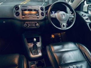 2012 Volkswagen Tiguan 5N MY12.5 155TSI DSG 4MOTION White 7 Speed Sports Automatic Dual Clutch Wagon.