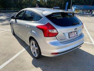 2013 Ford Focus LW MK2 Titanium Silver 6 Speed Automatic Hatchback