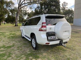 2017 Toyota Landcruiser Prado GDJ150R VX Crystal Pearl 6 Speed Sports Automatic Wagon