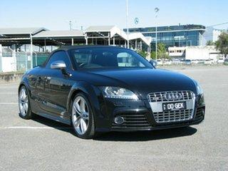 2010 Audi TT 8J S 2.0 TFSI Quattro Black 6 Speed Direct Shift Roadster.