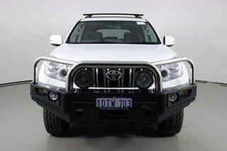 2011 Toyota Landcruiser Prado GRJ150R GXL (4x4) White 5 Speed Sequential Auto Wagon.