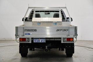 2015 Mazda BT-50 UP0YF1 XT 4x2 Hi-Rider Silver 6 Speed Manual Cab Chassis