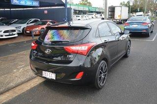 2012 Hyundai i30 GD Active Black 6 Speed Automatic Hatchback.