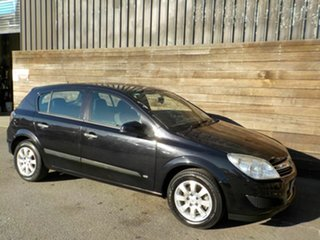 2008 Holden Astra AH MY08 CD Black 4 Speed Automatic Hatchback.