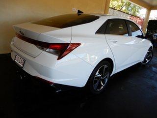 2020 Hyundai i30 CN7.V1 MY21 Elite White 6 Speed Auto Sequential Sedan
