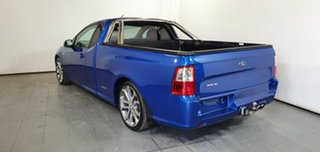 2012 Ford Falcon FG MkII XR6 Ute Super Cab Limited Edition Blue 6 Speed Sports Automatic Utility