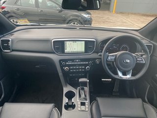 2021 Kia Sportage QL MY21 GT-Line AWD Clear White 8 Speed Sports Automatic Wagon