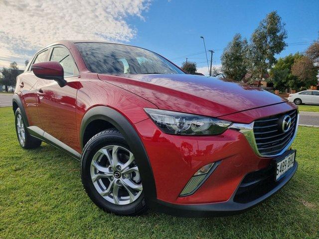 Used Mazda CX-3 DK2W7A Maxx SKYACTIV-Drive Hindmarsh, 2015 Mazda CX-3 DK2W7A Maxx SKYACTIV-Drive Soul Red 6 Speed Sports Automatic Wagon