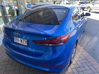 2016 Hyundai Elantra AD MY17 Active Marina Blue 6 Speed Sports Automatic Sedan.