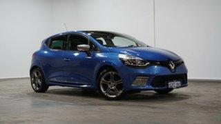 2016 Renault Clio IV B98 GT EDC Premium Blue 6 Speed Sports Automatic Dual Clutch Hatchback.