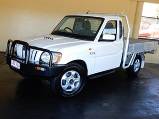 2014 Mahindra Pik-Up S5 11 Upgrade (4x4) White 5 Speed Manual Cab Chassis