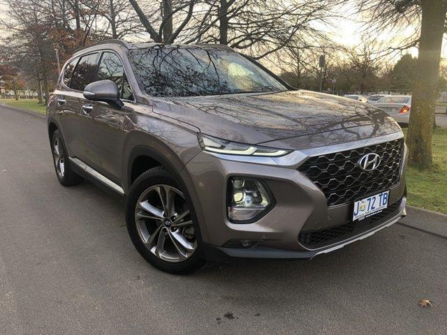 Used Hyundai Santa Fe DM5 MY18 Highlander Launceston, 2018 Hyundai Santa Fe DM5 MY18 Highlander Bronze 6 Speed Sports Automatic Wagon