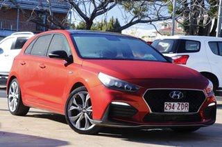 2018 Hyundai i30 PD.3 MY19 N Line D-CT Premium Orange 7 Speed Sports Automatic Dual Clutch Hatchback.