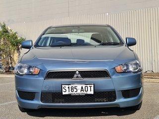 2010 Mitsubishi Lancer CJ MY11 SX Blue 6 Speed Constant Variable Sedan.