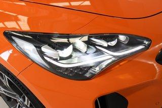 2019 Kia Stinger CK MY20 GT Fastback Carbon Edition Orange 8 Speed Sports Automatic Sedan