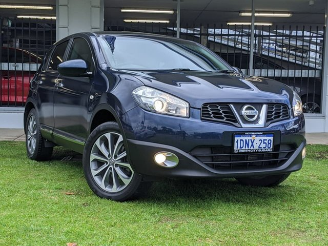 Used Nissan Dualis J10 MY2009 Ti Hatch X-tronic Victoria Park, 2010 Nissan Dualis J10 MY2009 Ti Hatch X-tronic Grey 6 Speed Constant Variable Hatchback