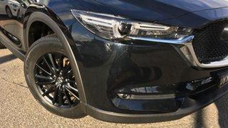 2017 Mazda CX-5 KE1072 Maxx SKYACTIV-Drive FWD Sport Black 6 Speed Sports Automatic Wagon.