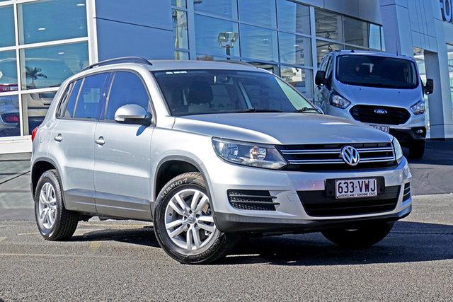 Used Volkswagen Tiguan 5N MY15 118TSI DSG 2WD Springwood, 2015 Volkswagen Tiguan 5N MY15 118TSI DSG 2WD Silver 6 Speed Sports Automatic Dual Clutch Wagon