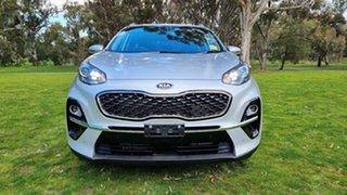 2021 Kia Sportage QL MY21 SX+ AWD Sparkling Silver 8 Speed Automatic Wagon.