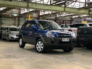 2004 Hyundai Tucson JM Elite Blue 4 Speed Sports Automatic Wagon.