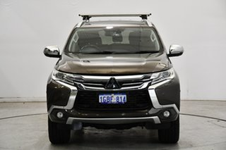 2016 Mitsubishi Pajero Sport QE MY16 Exceed Brown 8 Speed Sports Automatic Wagon.