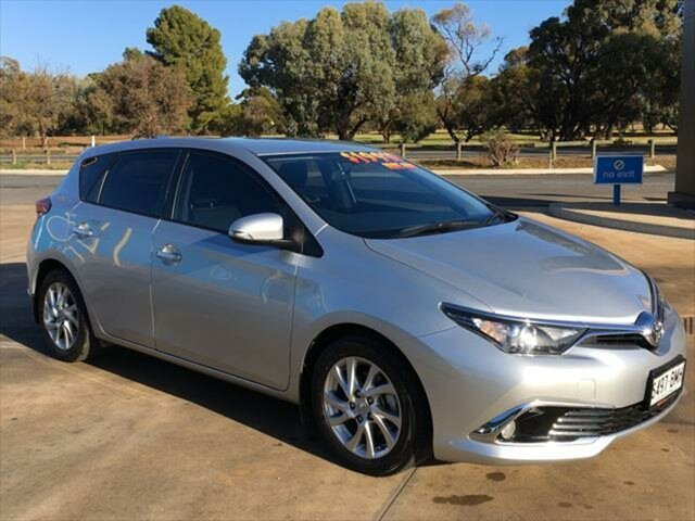Used Toyota Corolla ZRE182R Ascent Sport S-CVT Berri, 2016 Toyota Corolla ZRE182R Ascent Sport S-CVT Silver 7 Speed Constant Variable Hatchback