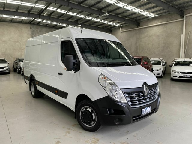 Used Renault Master X62 Mid Roof LWB AMT RWD Coburg North, 2015 Renault Master X62 Mid Roof LWB AMT RWD White 6 Speed Sports Automatic Single Clutch Van