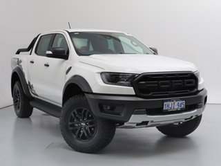 2020 Ford Ranger PX MkIII MY20.25 Raptor 2.0 (4x4) White 10 Speed Automatic Double Cab Pick Up.