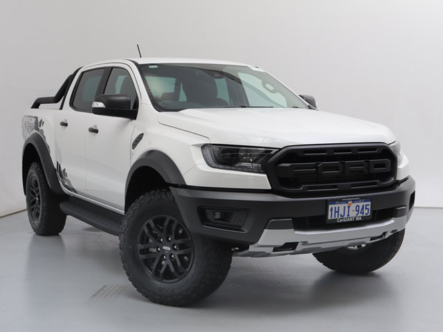 Used Ford Ranger PX MkIII MY20.25 Raptor 2.0 (4x4), 2020 Ford Ranger PX MkIII MY20.25 Raptor 2.0 (4x4) White 10 Speed Automatic Double Cab Pick Up