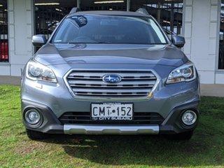 2015 Subaru Outback B6A MY16 2.0D CVT AWD Premium Grey 7 Speed Constant Variable Wagon.