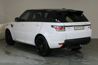 2015 Land Rover Range Rover Sport L494 15.5MY HSE Fuji Whitr 8 Speed Sports Automatic Wagon.