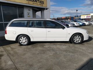 2006 Holden Commodore VZ MY06 Executive Heron White 4 Speed Automatic Wagon