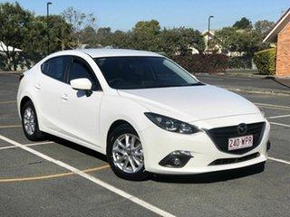 2016 Mazda 3 BN5276 Maxx SKYACTIV-MT White 6 Speed Manual Sedan.