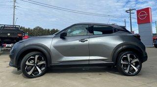 2020 Nissan Juke F16 ST-L DCT 2WD Gun Metallic 7 Speed Sports Automatic Dual Clutch Hatchback.