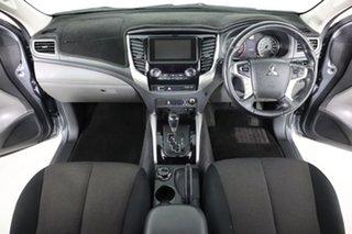 2017 Mitsubishi Triton MQ MY17 GLS (4x4) Sports Edt Grey 5 Speed Automatic Dual Cab Utility