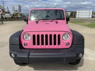 2017 Jeep Wrangler JK MY18 Unlimited Sport Black & Pink 5 Speed Automatic Softtop