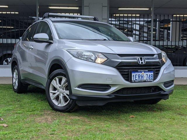 Used Honda HR-V MY15 VTi Victoria Park, 2015 Honda HR-V MY15 VTi Silver 1 Speed Constant Variable Hatchback