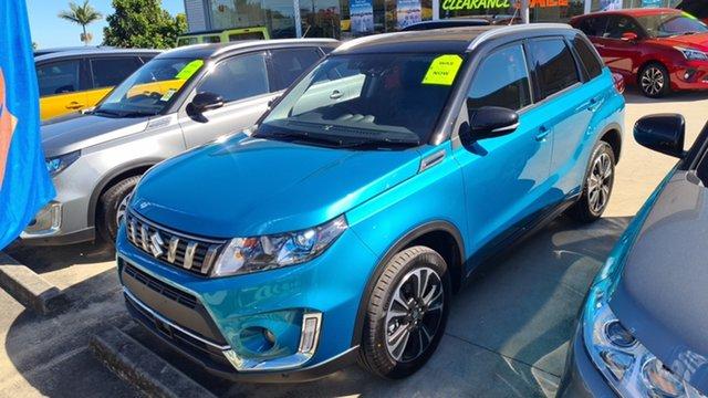 New Suzuki Vitara Moorooka, 2021 Suzuki Vitara VITARA1 VITARA S-TURBO GLX+ AUTO 2WD Turquoise/Black Roof Wagon