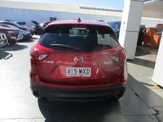 2016 Mazda CX-5 MY15 Maxx (4x2) Red 6 Speed Manual Wagon.